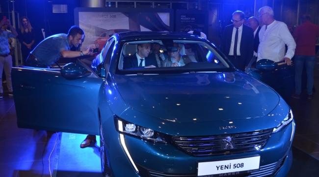 Nazer yeni Peugeot 508'i tanıttı