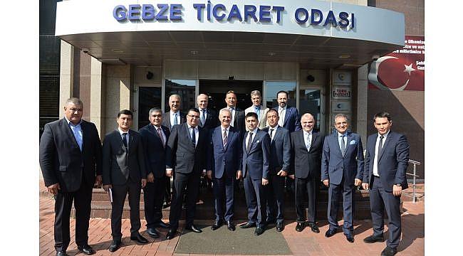 Özbekistan ve Gebze için yatırım olanakları görüşüldü