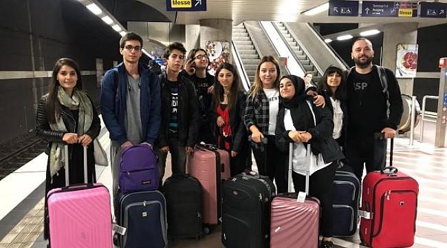 Sarkuysan öğrencileri Almanya'da!