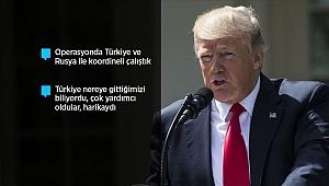 Trump: DEAŞ elebaşı Bağdadi ölü ele geçirildi