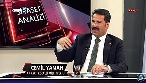 Yaman TV5'te gündemi değerlendirdi