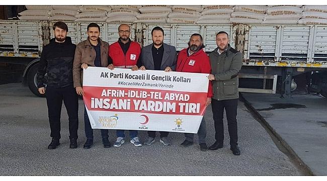 AK Gençler Suriye'ye çıkarma yaptı.