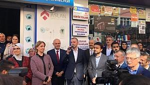 Ak Parti Genel Başkan Yardımcısı Erkan Kandemir Gebze'de