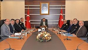 Aksoy ile güvenlik toplantısı yaptılar!