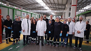 Bakan Dönmez'den Gebze'deki o fabrikaya ziyaret