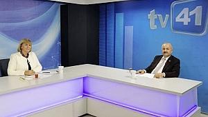 Başkan Büyükgöz TV41'de Gebze'yi konuştu!