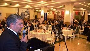 Başkan Şayir, öğretmenleri yemekte ağırladı
