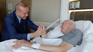 Erdoğan Kocaelili eski vekili ziyaret etti