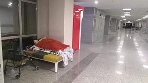 Hastanede kalan yaşlı kadına Büyükşehir sahip çıktı