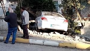 İlçe başkanı trafik kazası geçirdi!