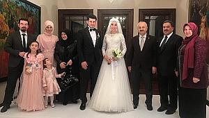 Kaymakam Güler kızını evlendirdi
