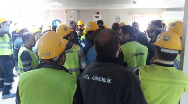 Kocaeli Şehir Hastanesi işçilerine ücretleri ödenmiyor