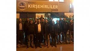 MHP'liler Kırşehirlilere konuk oldu