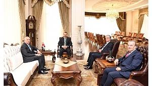 Vali Aksoy'a Kibar Holding'ten ziyaret