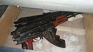 Yaptıkları silahları suç örgütlerine satan şebekeye operasyon