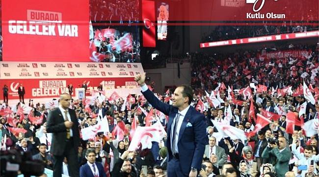 Yeniden Refah Partisi 1 yaşında!