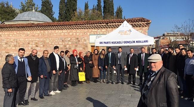 AK Gençler İnsan Hakları ve Demokrasi gününü kutladı