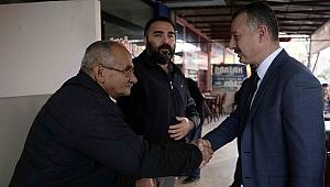 Başkan Büyükakın,Gebze'de vatandaşlarla buluştu