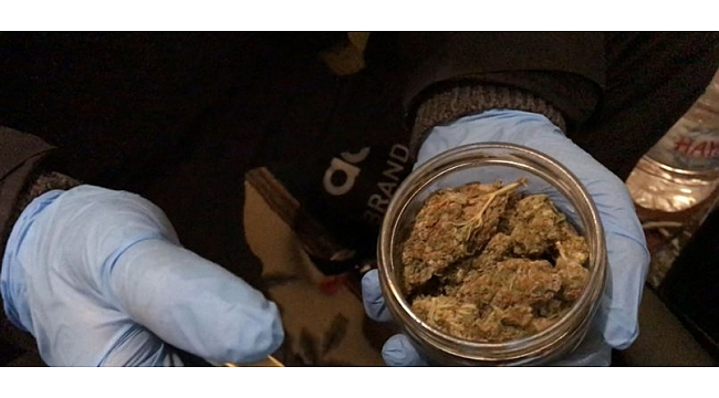 Gebze'de uyuşturucu operasyonu!