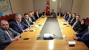 İl başkanları Ankara'da toplandı