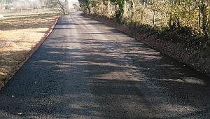 İzmit köy yolları modernleşiyor