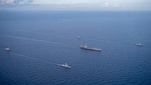 Türk gemileri o ülkenin gemileriyle ortak eğitimde