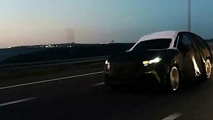 Yerli otomobilden ilk video! Osmangazi köprüsünden geçti