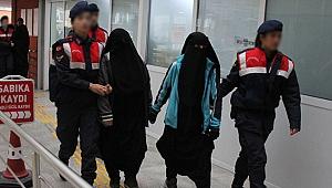 4 kadın DEAŞ üyesi yakalandı!