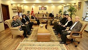 Başkan Bıyık, CHP İlçe Başkanını ağırladı