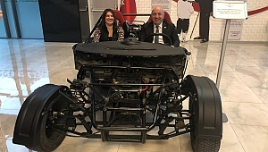 Başkan Bıyık'ın ikinci yerli otomobil sevinci