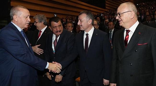 Başkan Büyükakın Ankara'da