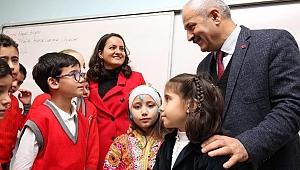 Başkan Büyükgöz'den 3/E sınıfına sürpriz ziyaret