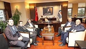 Başkan Büyükgöz'e Ziyaretler Sürüyor