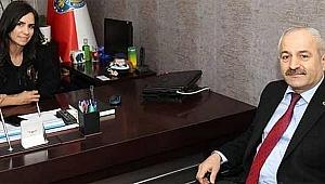 Büyükgöz'den Emniyet Müdürü Alaca'ya ziyaret