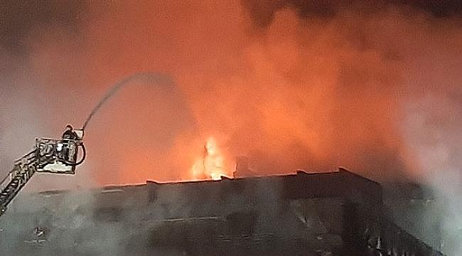 Darıca Park AVM'de yangın!