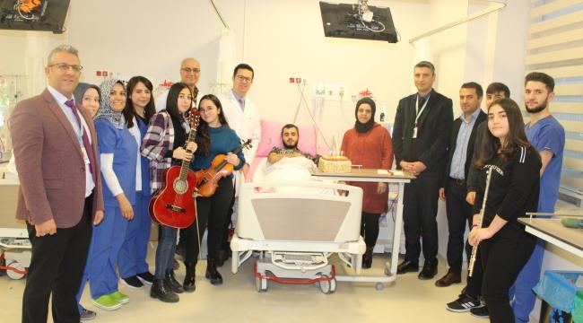 Fatih Devlet'te doğum günü sürprizi