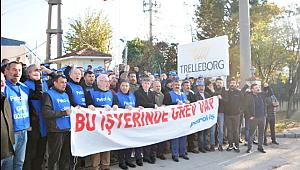 Gebze'de o işçiler 44 gündür grevde!