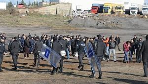 Gözaltına alınan nakliyeciler serbest bırakıldı