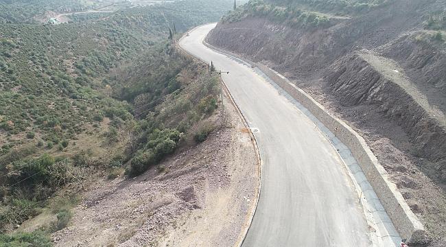 İlimtepe yolu asfaltlandı