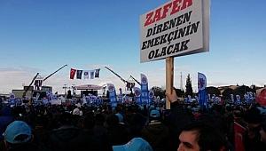 İşçilerin grevine patronlardan lokavt kararı!