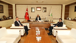 İŞKUR'dan Başkan Çiftçi'ye ziyaret
