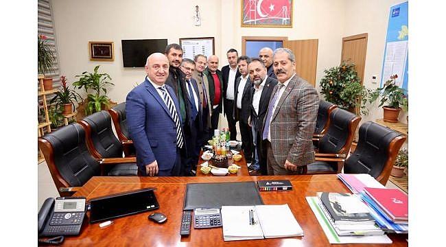 Kastamonulu başkandan Erzurumlu başkana sürpriz