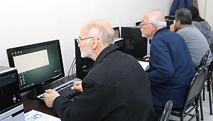 KO-MEK'ten 50 yaş ve üstü vatandaşlara bilgisayar eğitimi