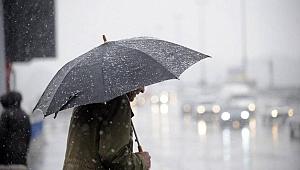 Kocaeli'de yağmurlu hava etkisini gösterecek