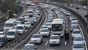Kocaeli yollarında kaç tane araç var?