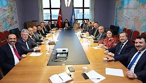 Mehmet Ellibeş Ankara'da