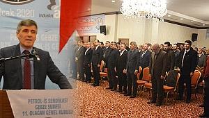 Petrol-İş Gebze'de kongre heyecanı