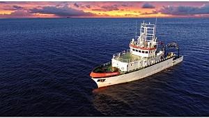 TÜBİTAK'ın gemisi Gebze'de satışa çıktı