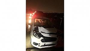 Yolun karşısına geçerken otomobil çarptı: 1 ölü!