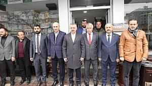 AK Parti'den Telat Coşkun'a vefa ziyareti